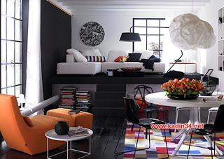 stüdyo daire tasarımları | DEKORASYONDA HARIKALAR YARATIN