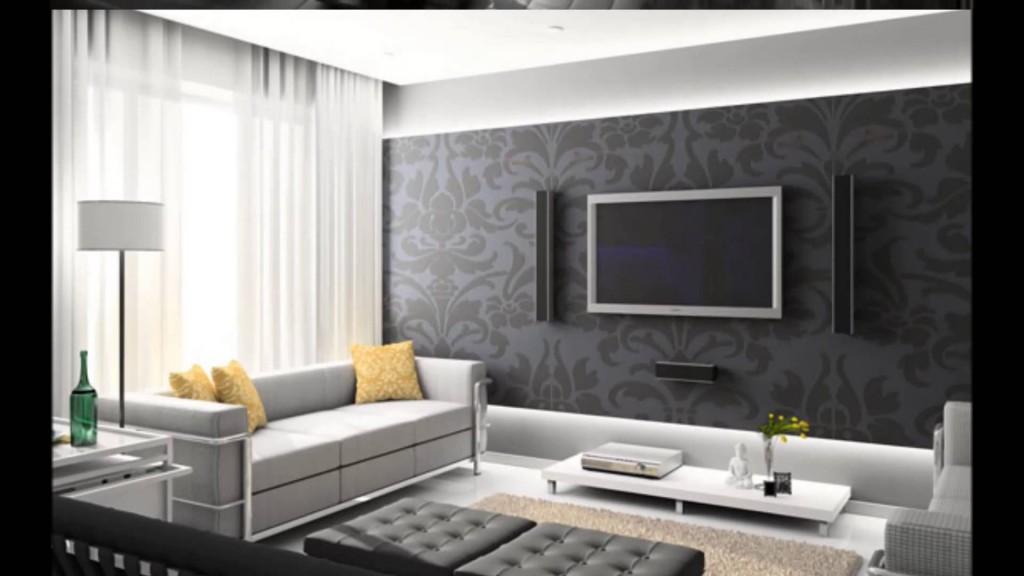 Tv Arkası Duvar Dekorasyonu ( Taş Kaplama ) - YouTube