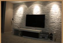 Tv Arkası Taş | Dekoratif Tv Arkası Taşları