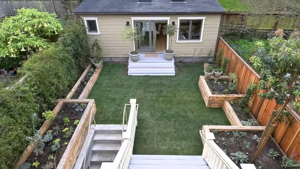 Küçük Bahçe Dekorasyon Örnekleri - Qport.net - YouTube