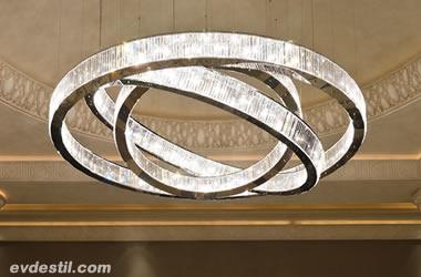Görkemli Kristal Aydınlatmalar - Evde Stil