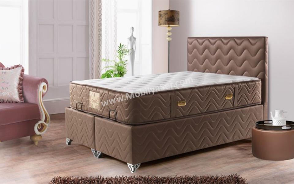 Ladin yatak baza | Outlet Mobilya Modelleri
