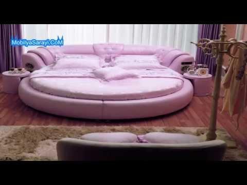 Yuvarlak yatak odası modelleri 2017 2018 - YouTube
