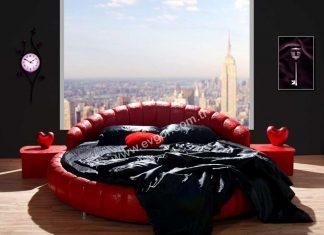 Yuvarlak Yataklar ve Modelleri | Evgör Mobilya