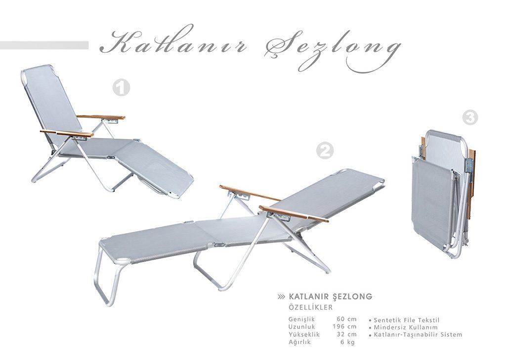 Şezlonglar - Şezlong - Şezlong Modelleri - Alüminyum Şezlong